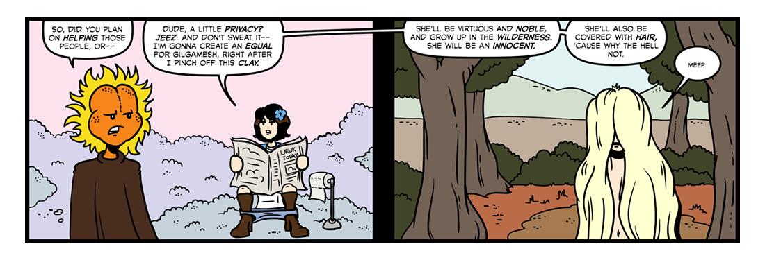 The Epic of Gilgamesh (Part 09)  Comic Strip