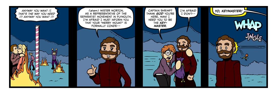 New English Canaan (Part 1)  Comic Strip