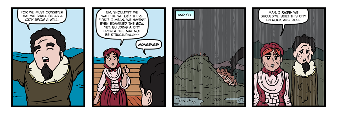 A Model of Christian Charity (Part 2)  Comic Strip