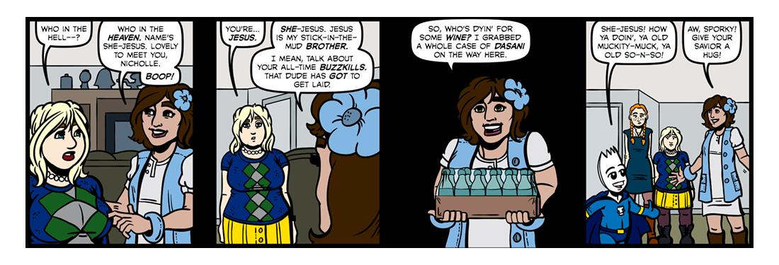 Elizabethan Christmas (Part 2)  Comic Strip