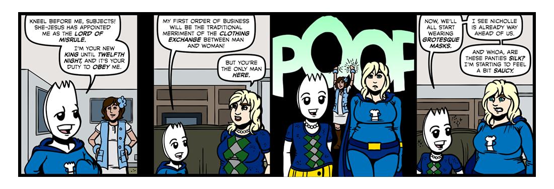 Elizabethan Christmas (Part 5)  Comic Strip