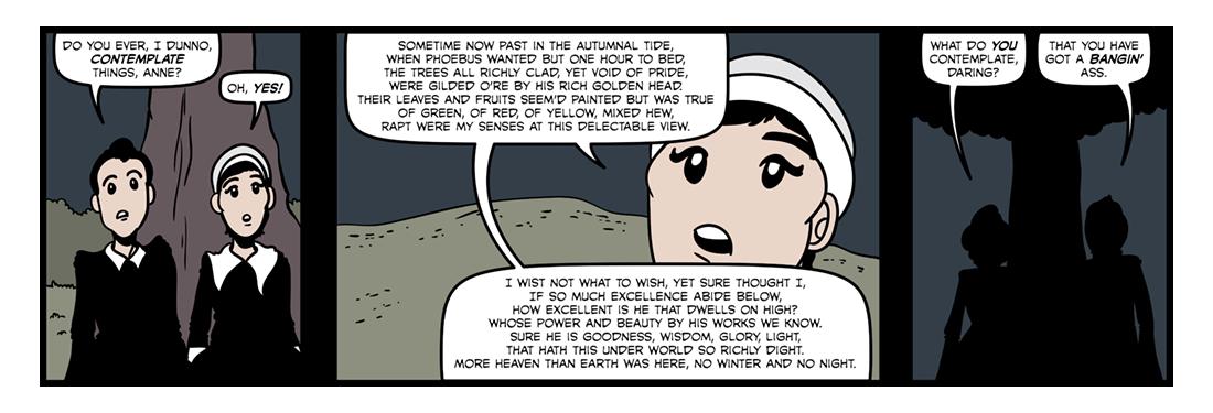 Contemplations  Comic Strip