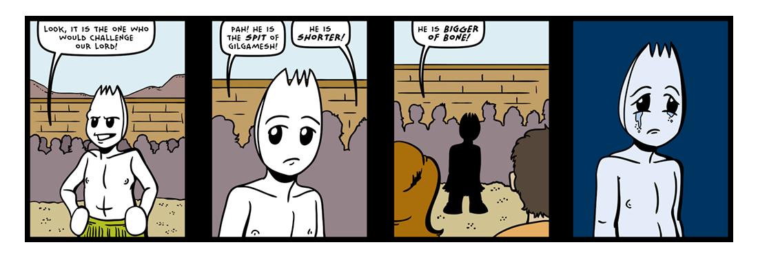 The Epic of Gilgamesh (Part 19)  Comic Strip