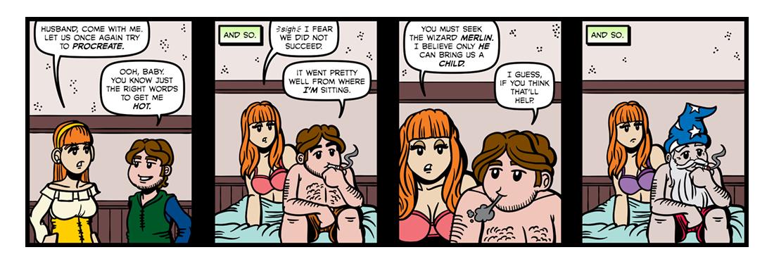 Tom Thumb (Part 01)  Comic Strip