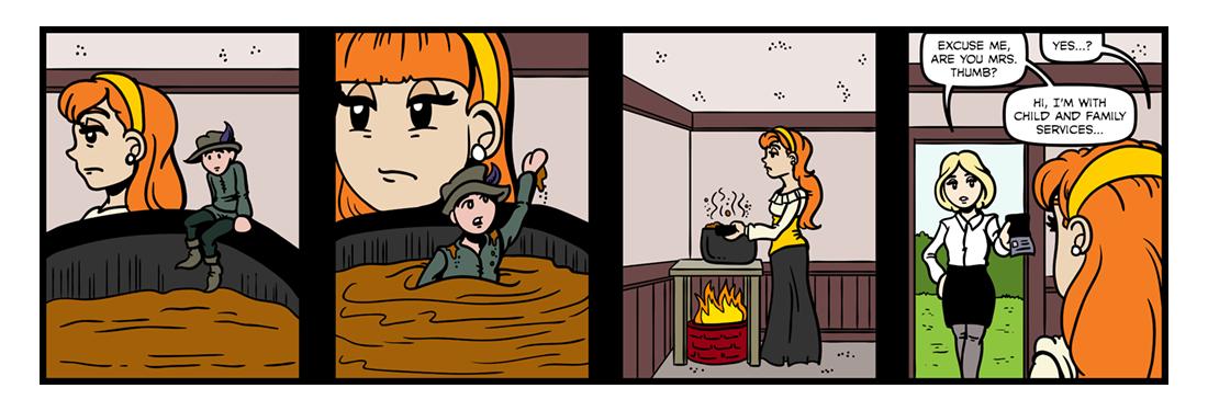 Tom Thumb (Part 02)  Comic Strip