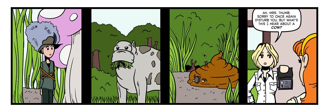 Tom Thumb (Part 03)  Comic Strip