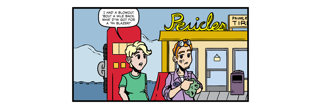 Pericles, Prince of Tyre  Comic Strip