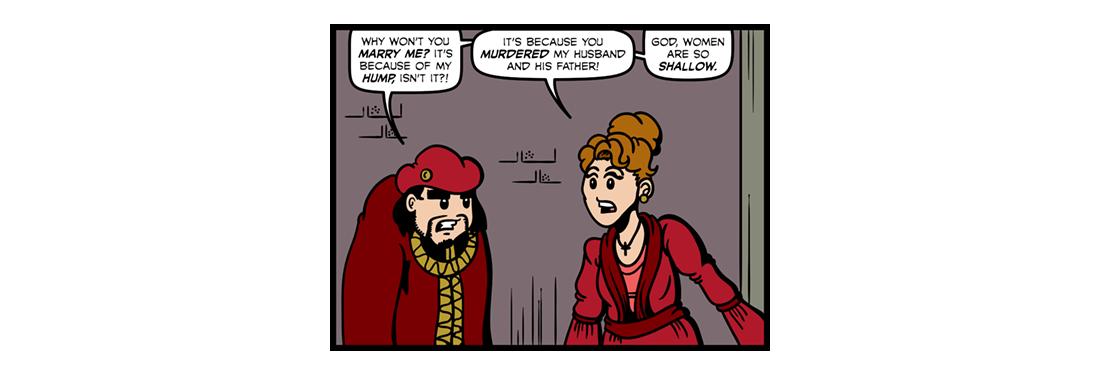 The Tragedy of Richard III  Comic Strip