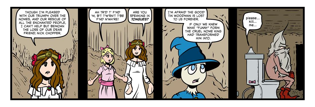 Ozma of Oz  Comic Strip
