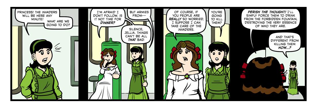 The Emerald City of Oz  Comic Strip