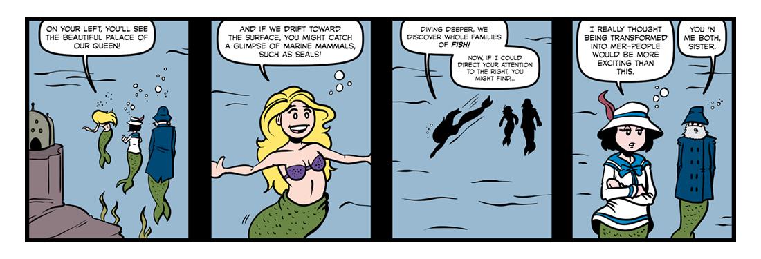 The Sea Fairies  Comic Strip