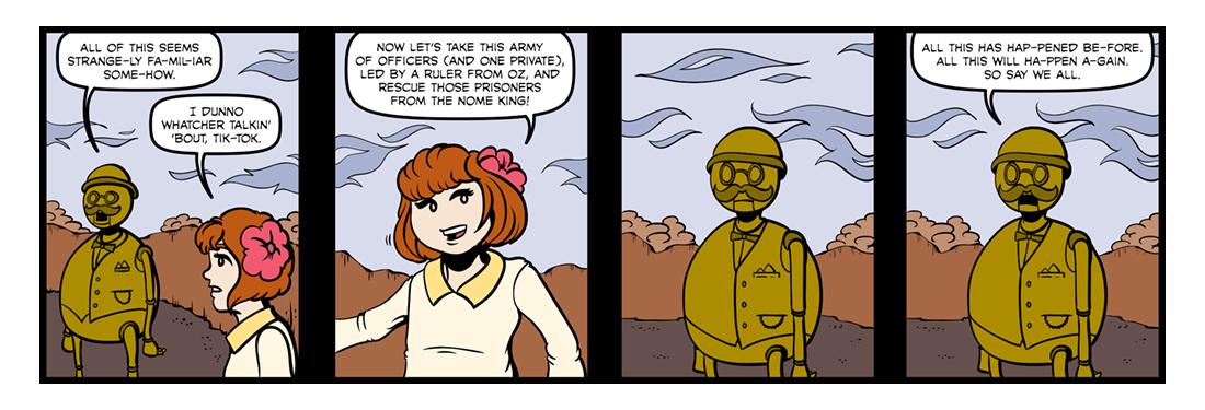 Tik-Tok of Oz  Comic Strip