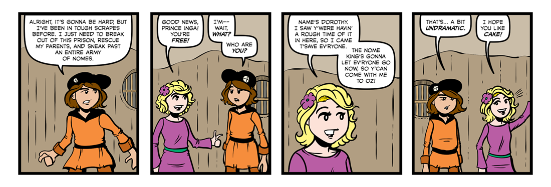 Rinkitink in Oz  Comic Strip