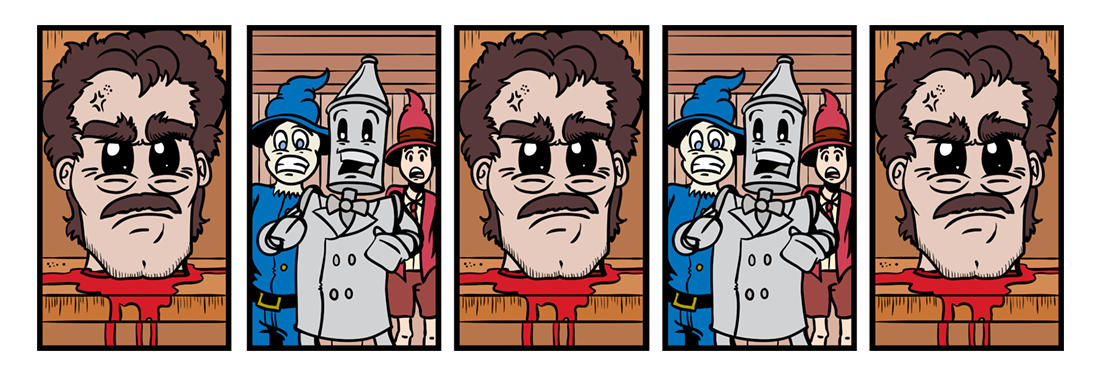 The Tin Woodman of Oz  Comic Strip