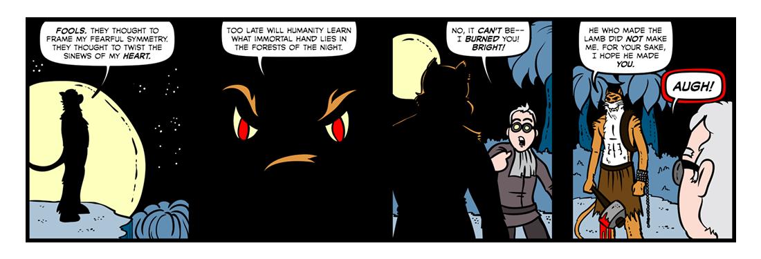 The Tyger (Part 2)  Comic Strip