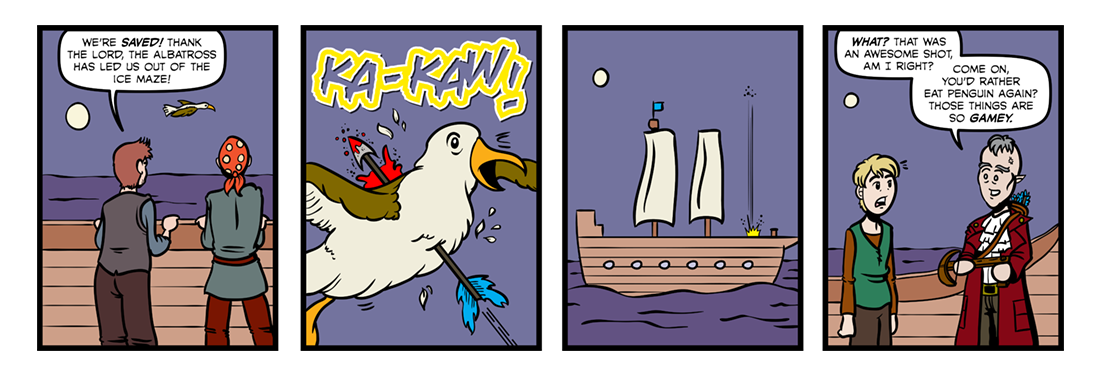 Rime of the Ancient Mariner (Part 03)  Comic Strip