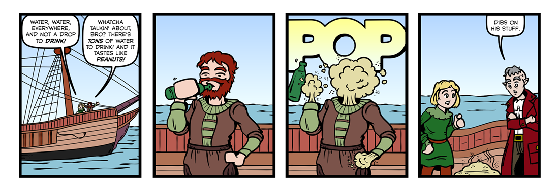 Rime of the Ancient Mariner (Part 04)  Comic Strip