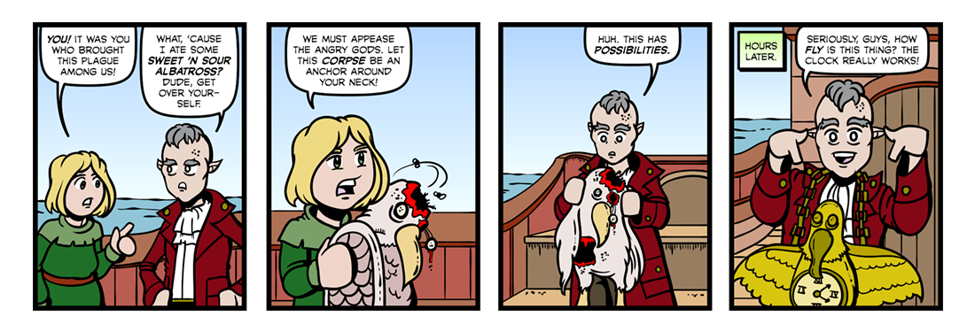 Rime of the Ancient Mariner (Part 05)  Comic Strip