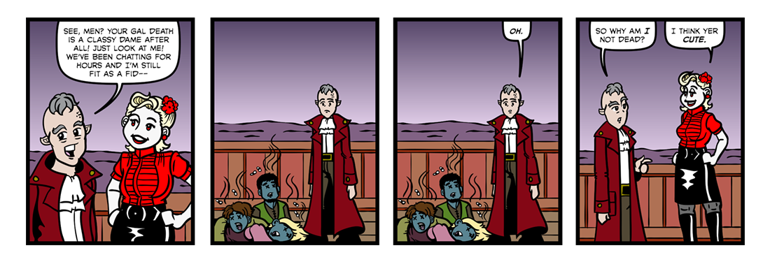 Rime of the Ancient Mariner (Part 07)  Comic Strip