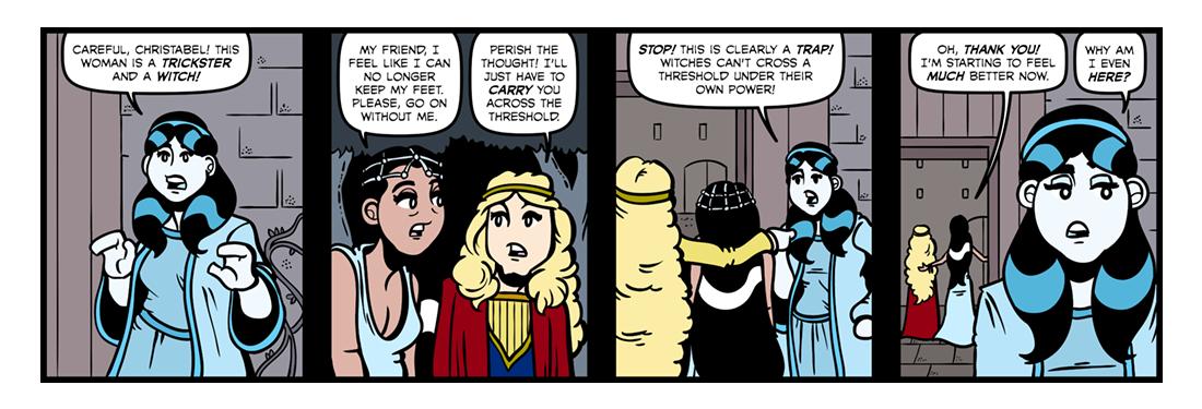 Christabel (Part 3)  Comic Strip