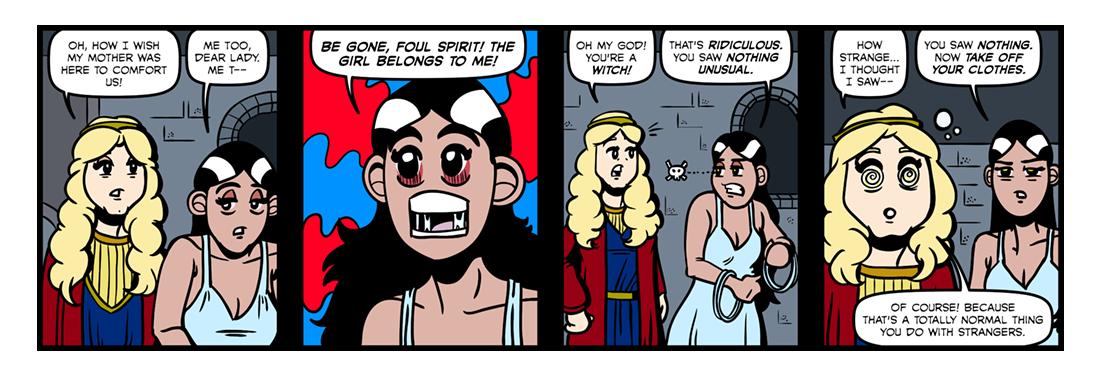Christabel (Part 4)  Comic Strip