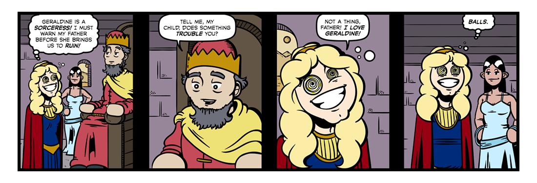 Christabel (Part 6)  Comic Strip