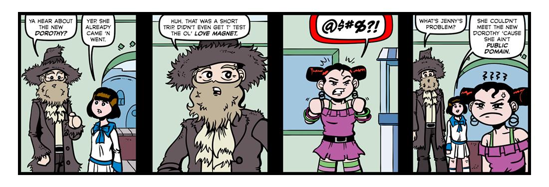 Namesake  Comic Strip