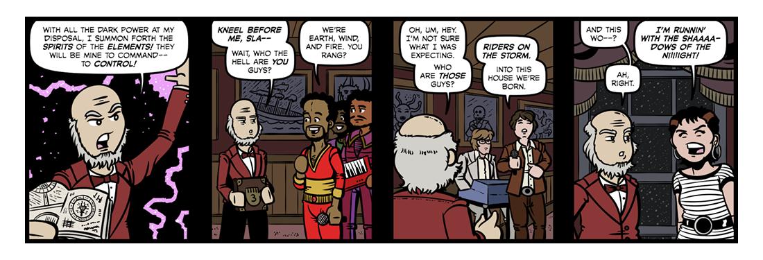 Manfred (1)  Comic Strip