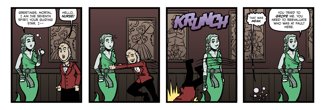 Manfred (2)  Comic Strip