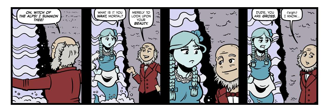 Manfred (4)  Comic Strip