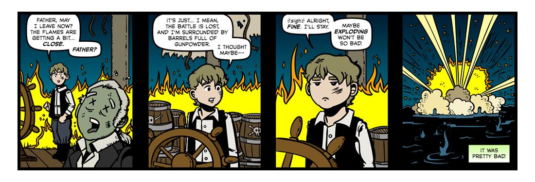 Casabianca  Comic Strip