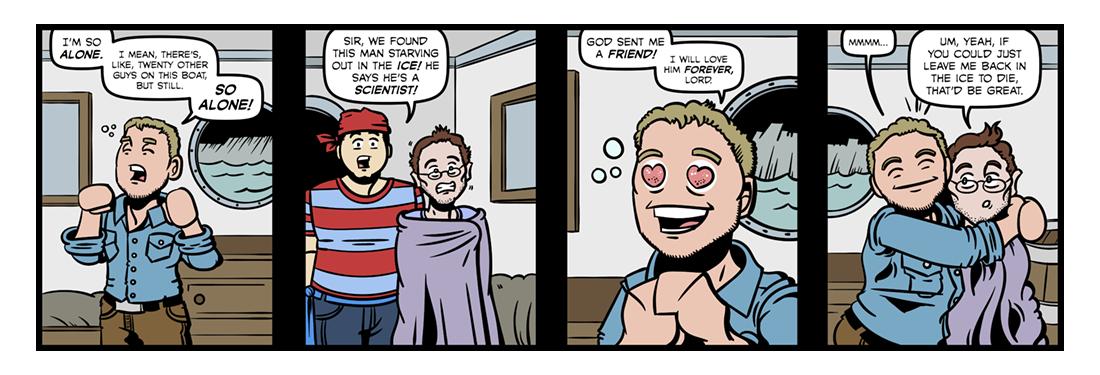 Frankenstein (1)  Comic Strip
