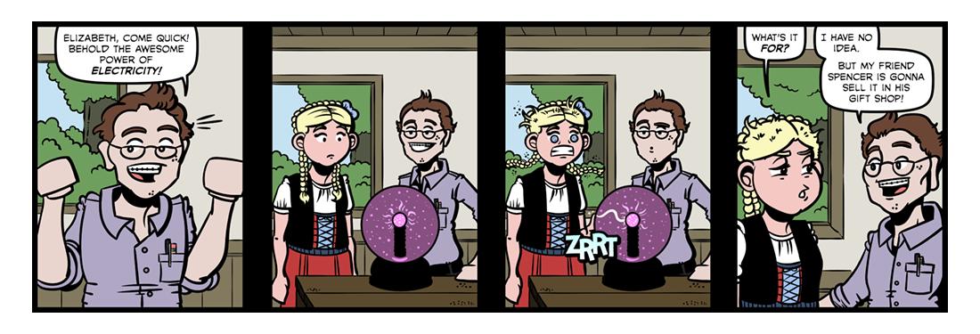 Frankenstein (3)  Comic Strip