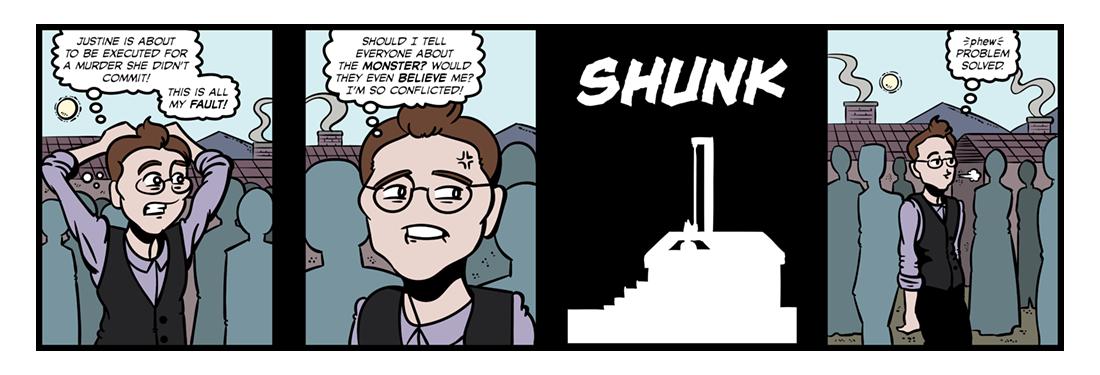 Frankenstein (9)  Comic Strip