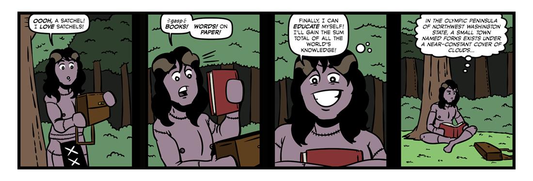 Frankenstein (15)  Comic Strip