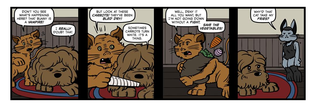 Bunnicula  Comic Strip