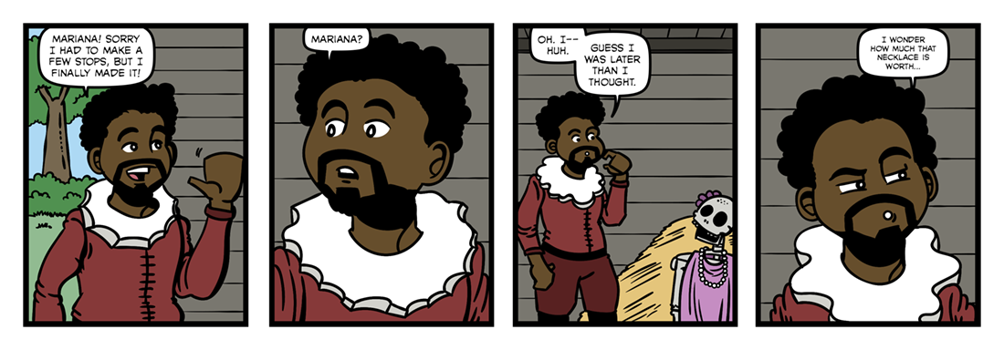 Mariana  Comic Strip