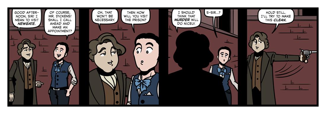 A Visit to Newgate (1)  Comic Strip