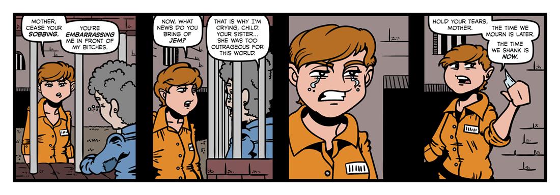 A Visit to Newgate (3)  Comic Strip