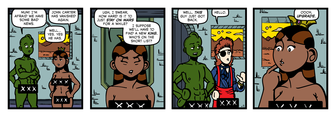 A Princess of Mars (Revisited)