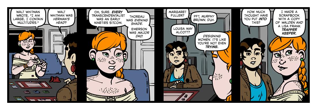 Transcendentalism  Comic Strip
