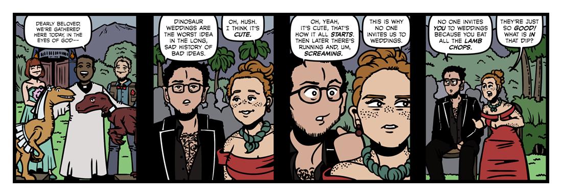 If You Were A Dinosaur, My Love  Comic Strip