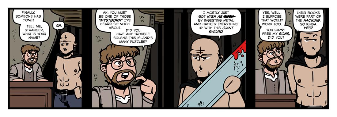 Mistborn  Comic Strip