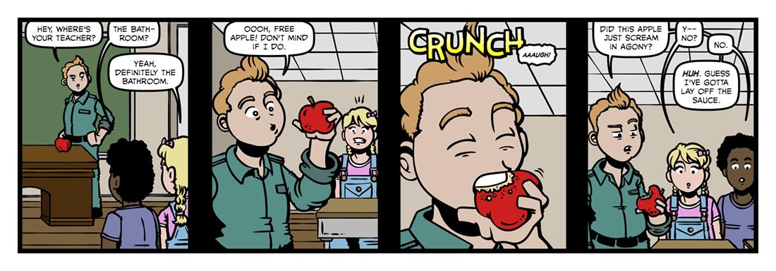 Sideways Stories From Wayside School  Comic Strip