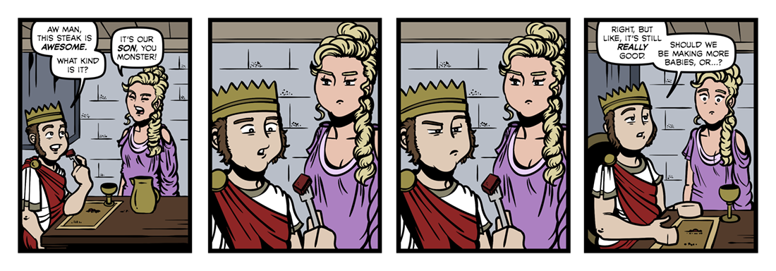 Atalanta In Calydon (1)  Comic Strip