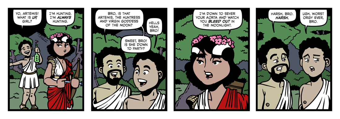 Atalanta In Calydon (2)  Comic Strip