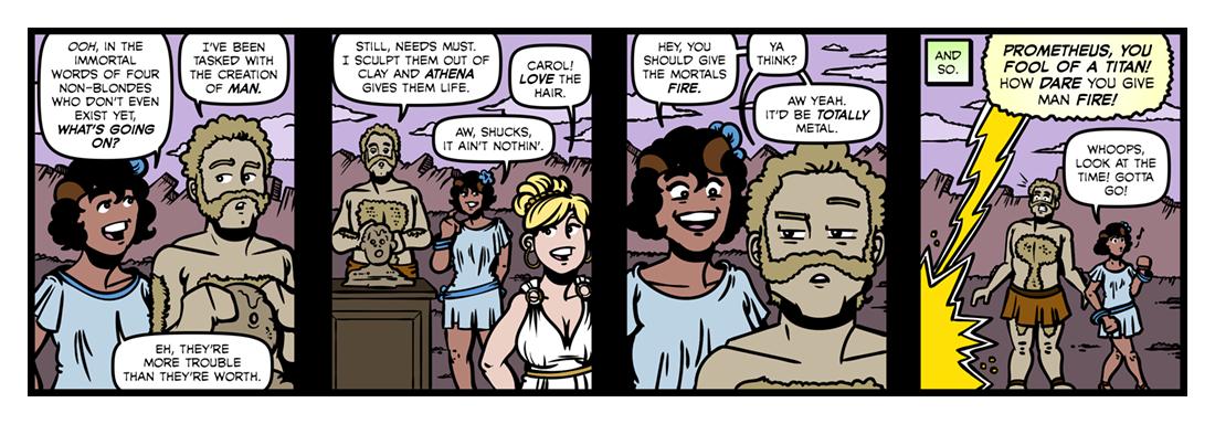 Atalanta In Calydon (3)  Comic Strip