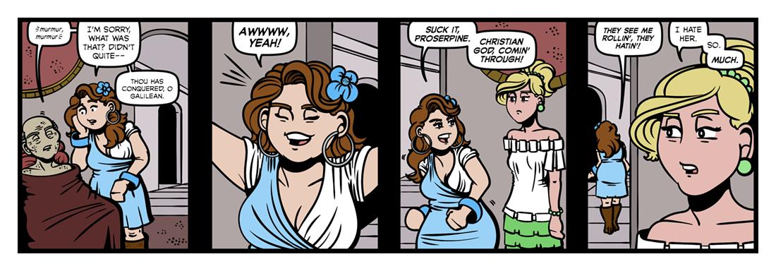Hymn to Proserpine  Comic Strip