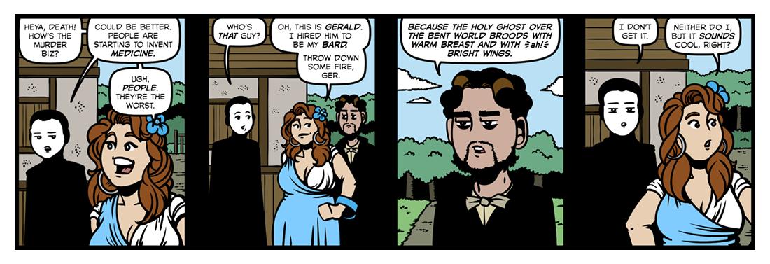 Gerard Manley Hopkins  Comic Strip