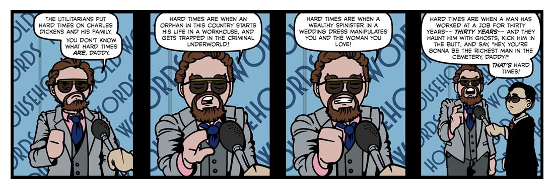 Hard Times  Comic Strip